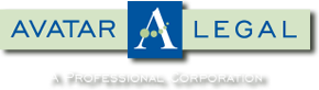 Color logo of Avatar Legal